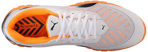 Puma Ignite ultime chaussure de course White/Orange Pop/Blue