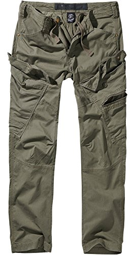 Brandit Adven Slim Fit Trousers - Oliv XXL