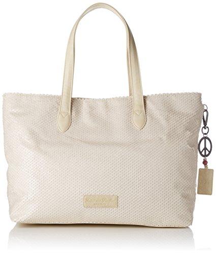 Fritzi aus Preussen Damen Andrina Business Tasche, Beige (Beige), 8.5x31x54.5 cm (Anne Klein Handtasche)