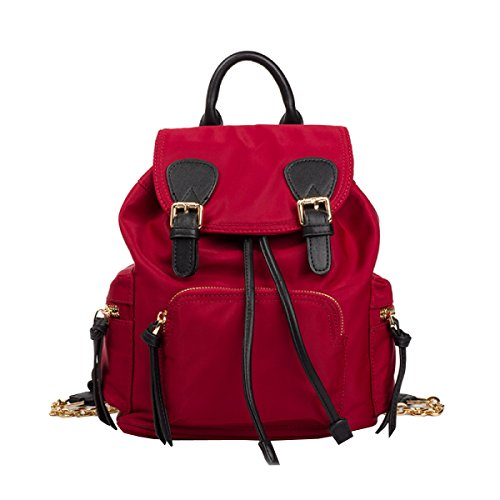 LAIDAYE Ms. Nylon Moda Zaino Red