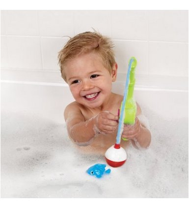 Image of Munchkin Gone Fishin' Bath Toy, price, bath, toys, net, finding, nemo, fishing, wind, up