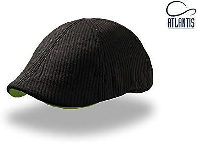 Cork Atlantis - Gorra boina ivy cap unisex color Negro - Talla única, parte trasera totalmente cerrada.