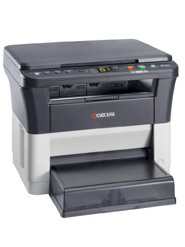 Kyocera Ecosys FS-1220MFP 3-in-1 Laser-Multifunktionsdrucker, SW-Drucker, Kopierer, Scanner, Modus Leiser Druck