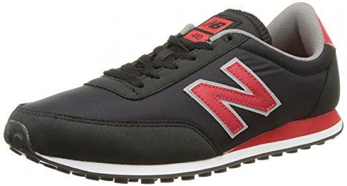 New Balance  U410 D,  Sneaker unisex adulto Nero