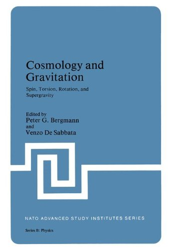 Cosmology and Gravitation: Spin, Torsion, Rotation, and Supergravity (Nato Science Series B: (closed)) par .