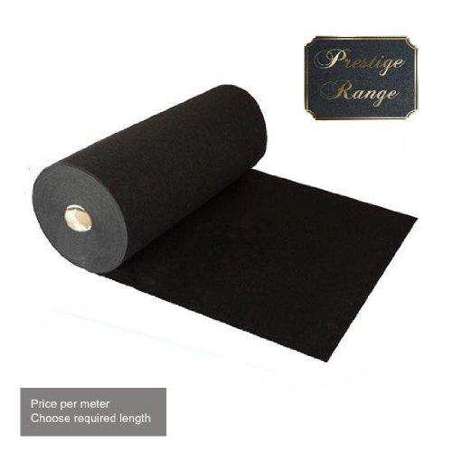 2M X Prestige Heavy Duty Black Carpet Runner
