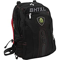 "Keep Out Gaming BK7RXL Mochila para portáil Gaming de 17"", Negra y Rojo"