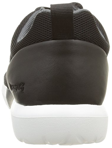 Le Coq Sportif Dynacomf Text, Sneakers Basses mixte adulte Noir (Black)