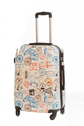 Maleta Grande Pasaporte rígida de 4 ruedas 76x48x26cm, envío gratis