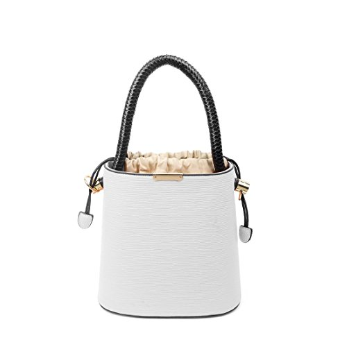 OBC Only-Beautiful-Couture, Borsa a mano donna beige Beige ca.: 27x26x14 cm (BxHxT) bianco