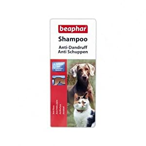 Beaphar Anti-Dandruff Shampoo for Dogs & Cats +MSM 200ml H88