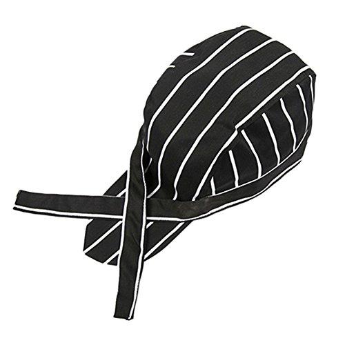 gemini-mall-skull-cap-professional-catering-chefs-hat-bandana-black-stripes