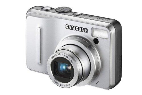 Samsung S1060 Digitalkamera (10,2 Megapixel, 5-Fach Opt. Zoom, 6,9 cm (2,7 Zoll) Display) Silber 10.2 Mp, 2.7