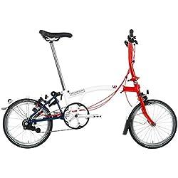 Brompton World Championship Limited Edition S6L 2018 - Bicicleta plegable