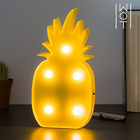 qtimber Applique Murale LED Ananas Wagon Trend (5 LED) 26