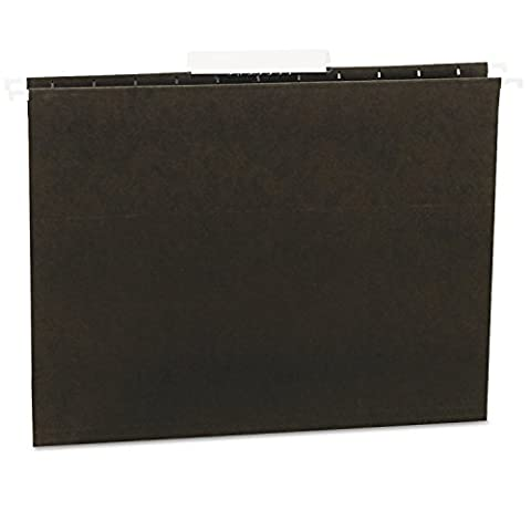 Universal 14113 Hanging File Folders, 1/3 Tab, 11 Point Stock, Letter, Standard Green, 25/Box by Universal