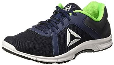Reebok Men's Paradise Runner Lp Coll Navy/Blk/Grey/Green Running Shoes-7 UK/India (40.5 EU)(8 US) (CN8162)