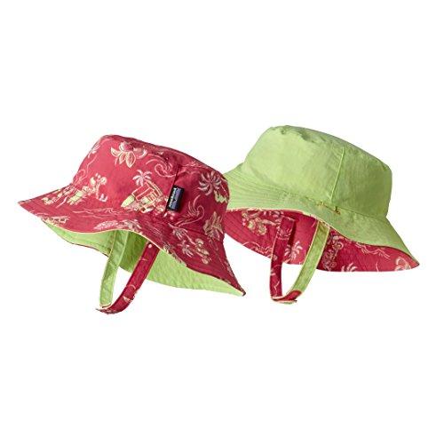 Patagonia Baby Sun Bucket Hat C Street Small: Cerise 12M (Kids) (Hat Patagonia-bucket)