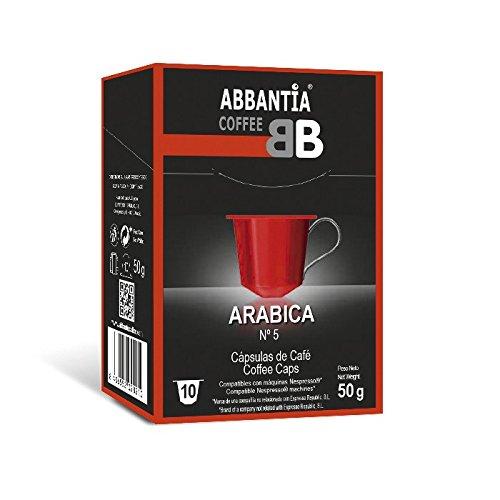 120 Cápsulas de Café 100% Arábica...