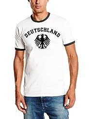 Deutschland Adler T-Shirt WM 2018 Damen oder Herren Ringer T-Shirt S - XXL verschiedene Farben