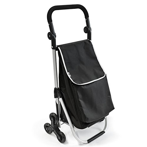 bremermann sube escaleras carro de la compra carrito de la compra (negro)