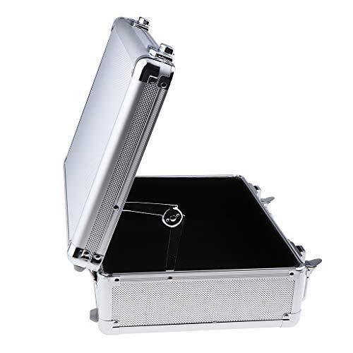 B Blesiya Hochwertig Werkzeugkoffer Transportbox Werkzeugkasten Werkzeugbox Aluminumkoffer Tattoo Tools Koffer