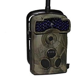 Ltl Acorn 5310MG, cámara Caza, y fototrampeo, Envio DE Fotos AL Correo, Infrarrojos Invisibles al Ojo Humano, 12Mp, Tiempo de Disparo 0,8s, Videos FHD, 20m iluminacion Nocturna