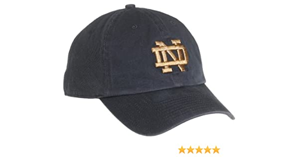 d758ebd1987  47 Brand Notre Dame Clean-Up Adjustable Cap (navy)  Amazon.co.uk  Sports    Outdoors