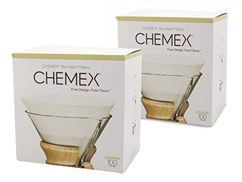 Chemex Kaffee-Filterkreise, gebunden, 100 Stück, 2 Stück