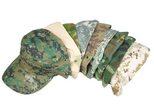 INFIKNIGHT INF Desert German Digital Woodland Black ACU Forest Camo Camouflage Military Army Hunting Tactical Cap Caps -