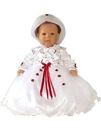 Bautizo Vestidos Traje de bautizo para el bautismo de niños niñas recién nacidas para fiestas de boda, Y04