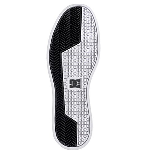 DC Shoes - Rebound Slim Hi J Shoe Bkw, Sneaker alte Donna Nero (Schwarz (Black/White BKW))