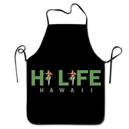 Hawaii-schürze (kim spratlin Der lustige kreative Druck der Hawaii HI Life Frauen, der Schürzen kocht)