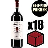 X18 Château La Gaffelière 2014 37,5 cl AOC Saint-Emilion Grand Cru 1er Grand Cru Classé B Rouge Rotwein