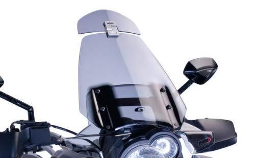 Puig 4639W1348 Spoiler-Aufsatz klar z.B. Suzuki Burgman 650 Executive (WVBU) 200 Set -