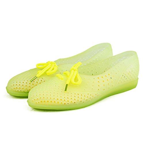 Shenduo Sandali estive - Zoccoli e sabot sanitari con cordoncino comode Donna D7910 menta verde