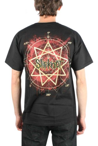 Slipknot 'Come Play Dying' 2-sided Big Uomo t-shirt Nero
