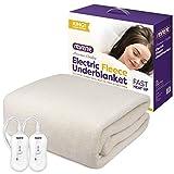 Reverie Electric Blanket | Fitted Fleece Underblanket with 2 Heat Zones | Dual