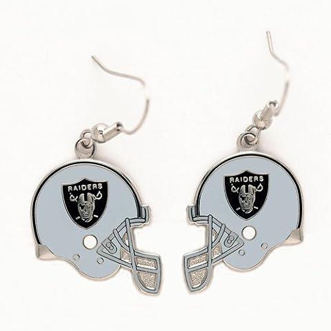 Oakland Raiders Helmet Boucles d'oreilles Pendantes