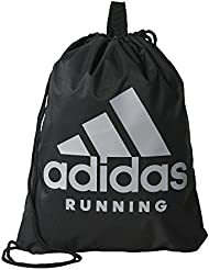 adidas Run Gym Bag Bolsa, Unisex Adulto, Negro (Negro / Negro / Onicla), NS