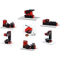 Mini máquina multiuso 6 en 1 kit de madera suave de metal carpintería herramienta de bricolaje torno kit de máquina para hobby modelo aficionado fabricante