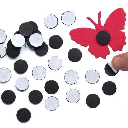 Baker Ross Selbstklebende Mini-Magnete - zum Basteln für Kinder - toll als Dekoration und ein Muss im Bastelbedarf - 150 Stück -