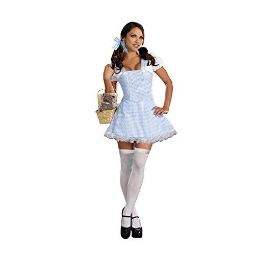 Blue Gingham Dress Fancy dress costume (Dorothy Kostüme Sexy)