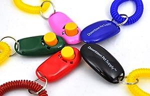 Lot de 4Karen Pryor I Click Clicker pour Chien et Chat Dressage avec Bracelet bobines