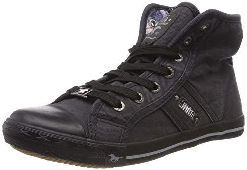 MUSTANG Damen 1099-502-259 Hohe Sneaker, Grau (Graphit 259), 38 EU