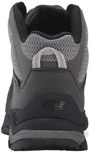 Keen Aphlex Mid, Chaussures de Randonnée Hautes Homme Noir (Black/Black)