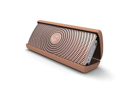 InnoDevice FL300060 InnoFlask 2.0 Bluetooth Designer Lautsprecher mit Mikrofon Funktion Gold
