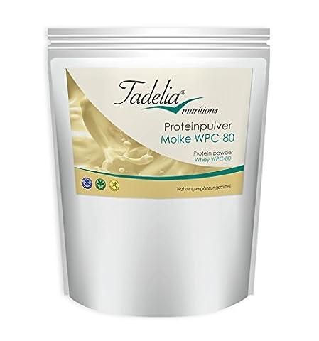 Tadelia® Proteinpulver Molke WPC 80 - 800