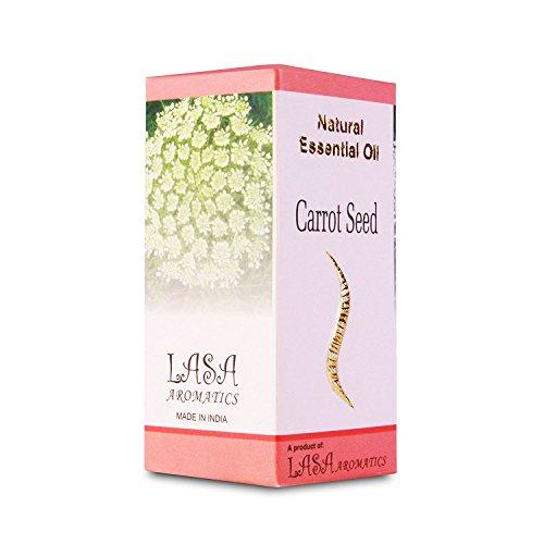 Huiles Essentielles Aromatiques Lasa De Semences De Carotte 100% Pures Et Naturelles - 10 ml