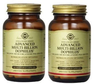 Solgar Advanced Multi-Billion Dophilus Vegetable Capsules - Pack of 60 (120) from Solgar